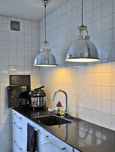 lys køkken loft