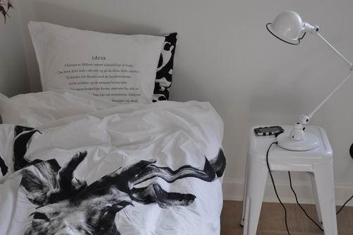 blacknwhite » by nord sengetøj/påslakan på tilbud !